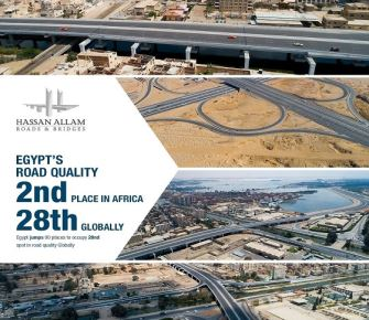 Egypt's road quality is now ranked 2nd in Africa and 28th globally, jumping 90 spots over the past 5 years.
