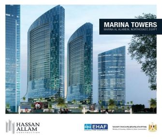 Hassan Allam Construction has been awarded  a contract to execute 3 additional  towers at the North Coast