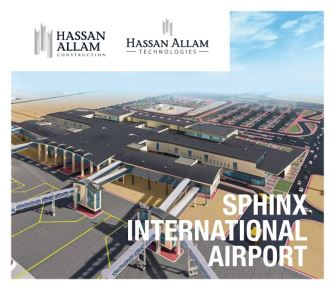 Hassan Allam Construction and Hassan Allam Technologies are currently working on a new project for the construction of the main terminal building at Sphinx International Airport