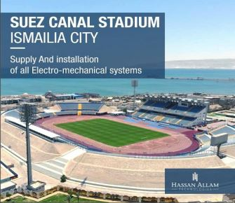 Hassan Allam Technologies has been awarded a contract to supply and install all electro-mechanical systems for Suez Canal Stadium, located in Ismailia governorate.
