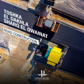 Hassan Allam Roads & Bridges has been awarded part of the development of two new vital roads connecting Toshka with Sharq El-Owainat