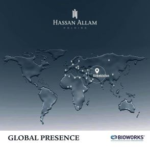 Hassan Allam Holding is glad to announce that Bioworks the group's German-based water solutions EPC company has been awarded a new project in Yangiul, Uzbekistan