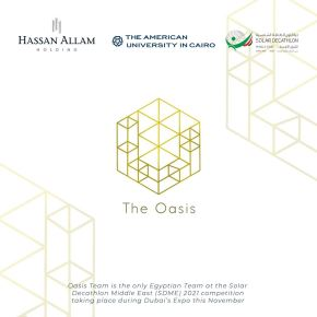 Hassan Allam Holding is proud to announce its collaboration with The American University in Cairo for sponsoring Oasis AUC in Dubai on a journey to compete with universities around the world