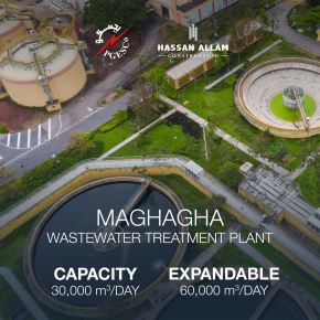 We are happy to announce the new award for Maghagha Wastewater Treatment Plant to Hassan Allam Construction by the Ministry of Housing and Urban Development.