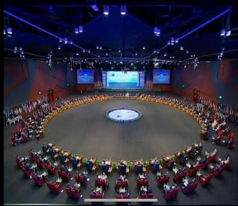 Arab League-European Union Summit hosted at HAC-built ICC